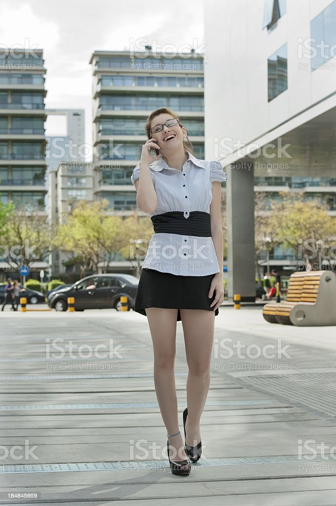 Talking about Bussines. royalty-free stock photo