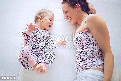 istock Talking baby 519396578