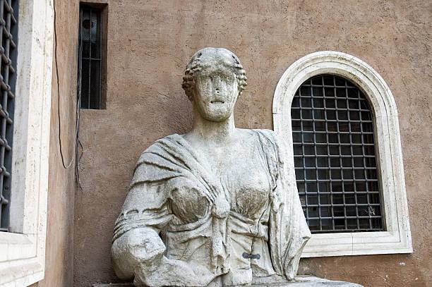 Talking Statue of Rome stock photo