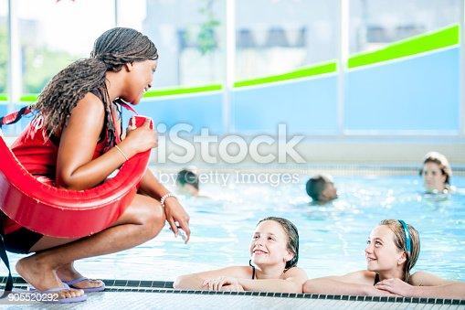 istock Talking To The Lifeguard 905520292