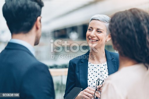 istock Talking with the colleagues 920638166