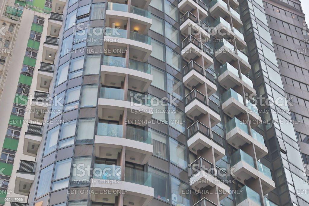 灣仔住宅樓高層公寓圖像檔