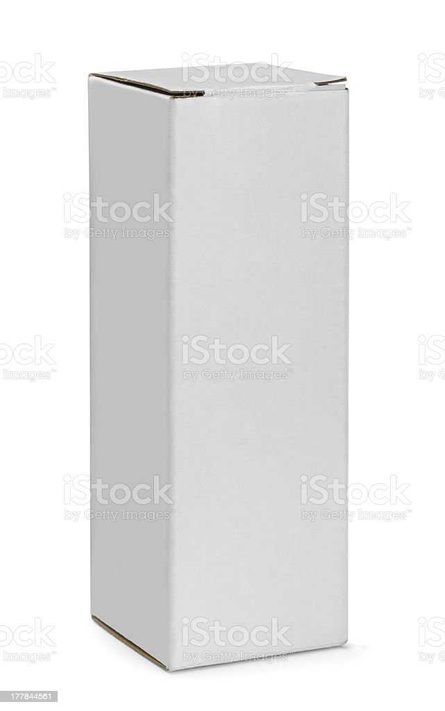 Tall box stock photo