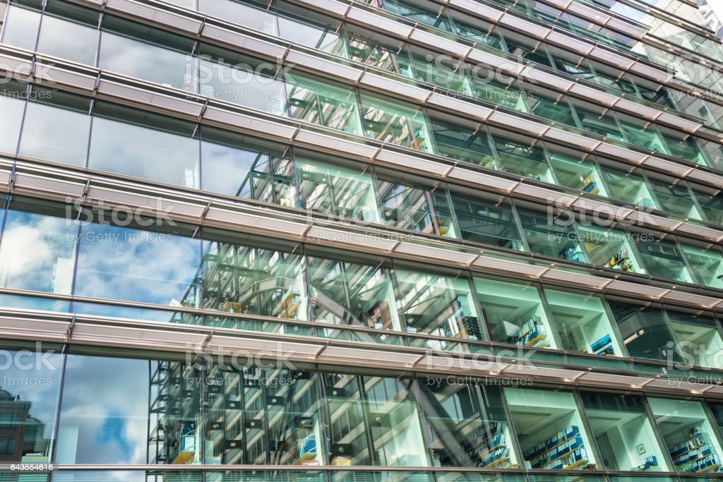 Tall building(s) in London stock photo