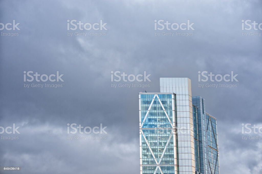 Tall building in London stock photo