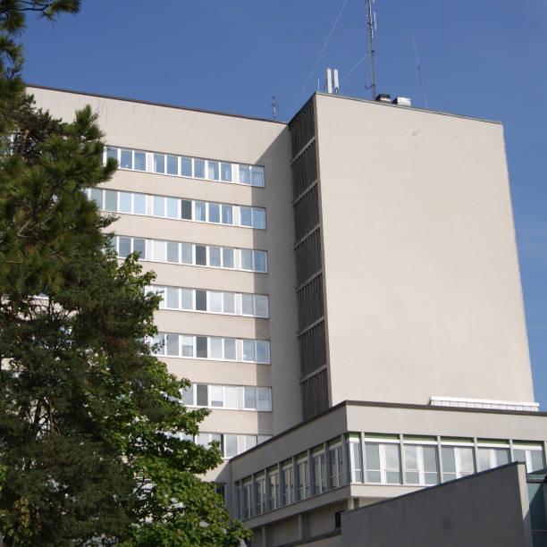 Höga byggnaden bildbanksfoto