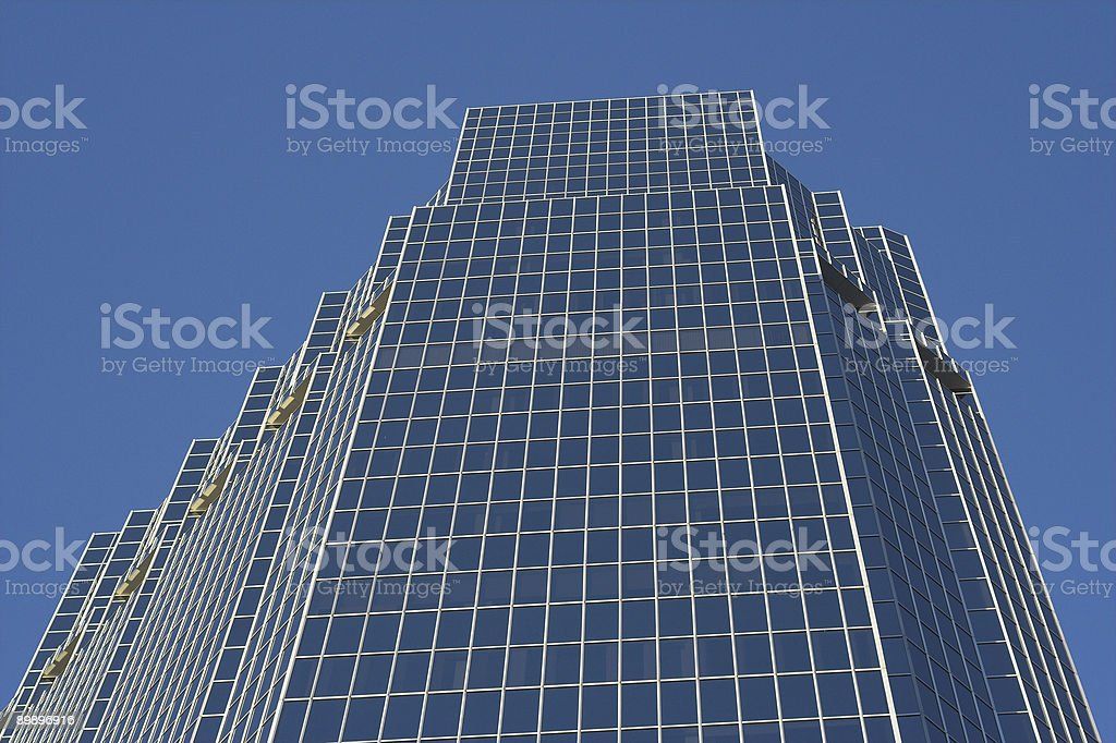 Tall Business Building royalty free stockfoto