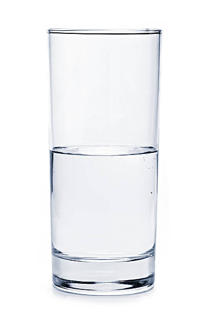 Glas Wasser Halb voll – Foto