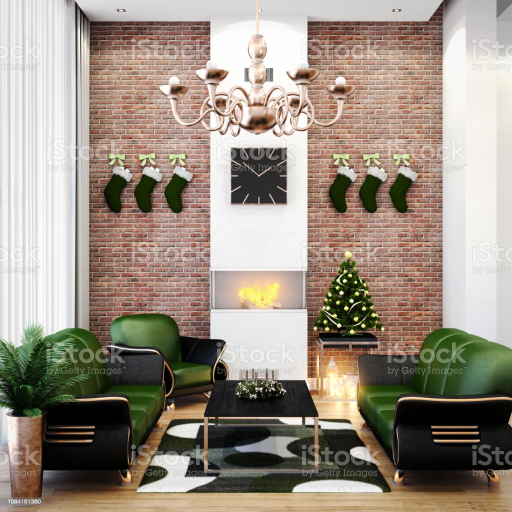 Tall Living Room Stock Photo Download Image Now Istock