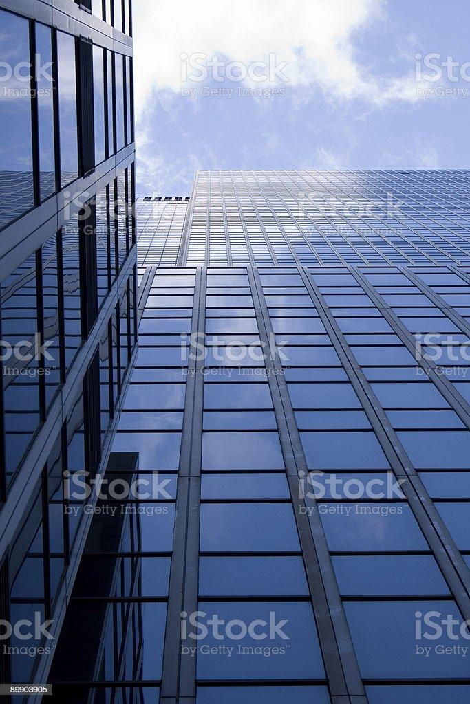 Tall New York City Building royalty-free stock photo