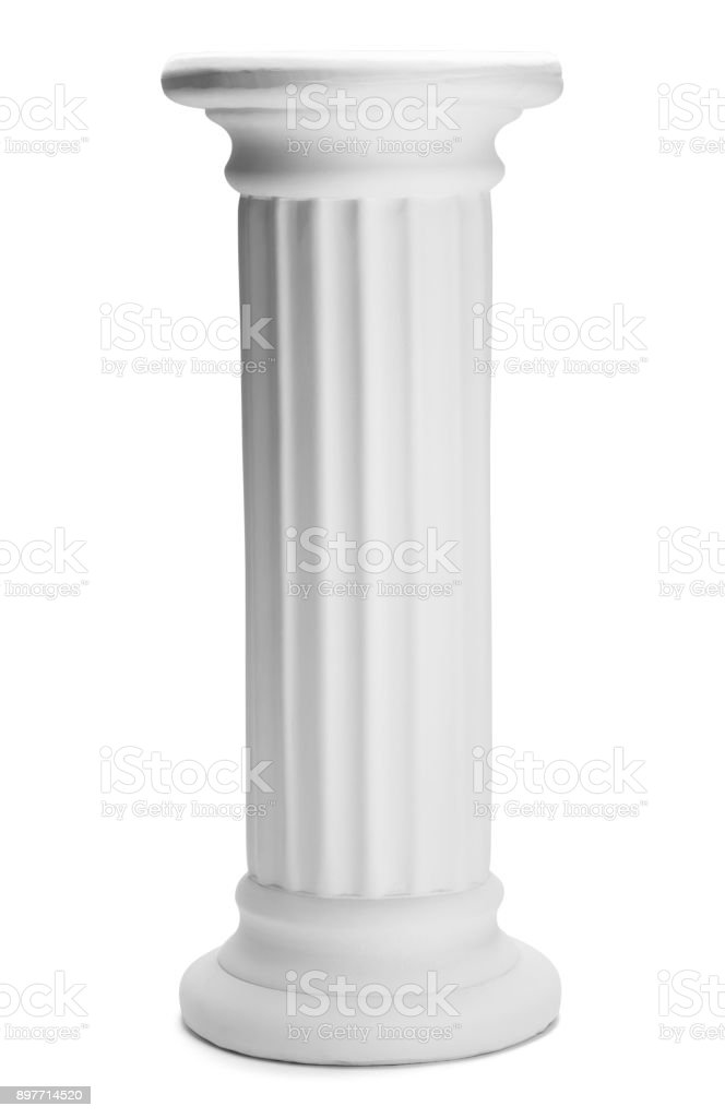 Tall Pillar stock photo