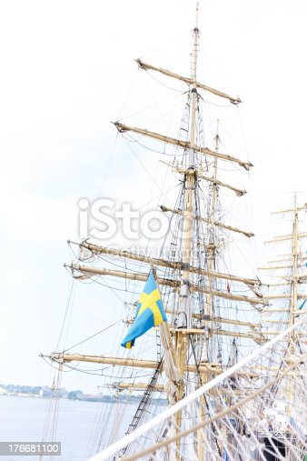 Tall Ship Mast Stock Photo & More Pictures of Arm Sling