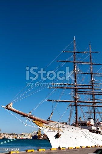 istock Tall ship 148114368
