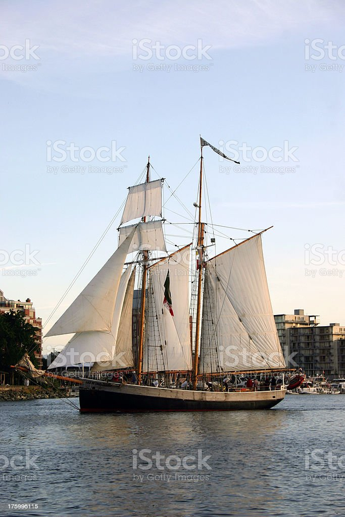 Tall Ship royalty-free stock photo
