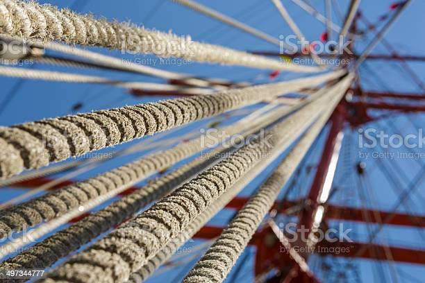 Windjammer Seil Tauwerk Stockfoto und mehr Bilder von Alt