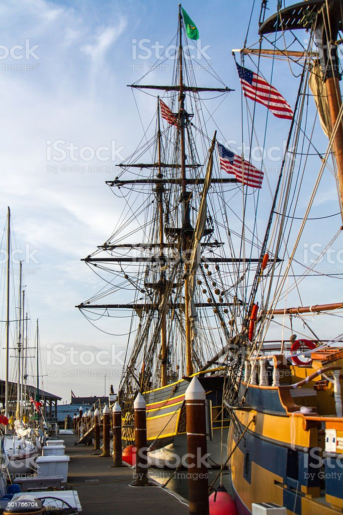 Tall Ships-Amsterdam stock photo