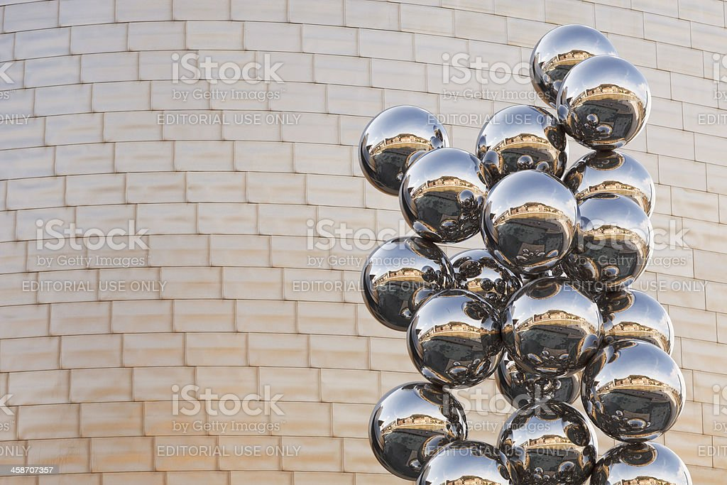 Tall Tree and the Eye by Anish Kapoor stock photo