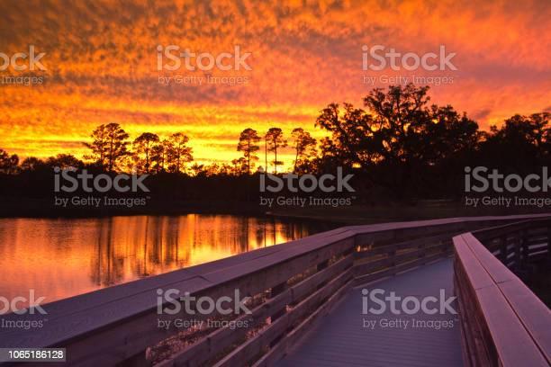 Photo of Tallahassee Florida- Boardwalk at Sunset