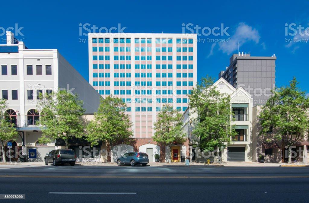 Tallahassee Florida Downtown stock photo