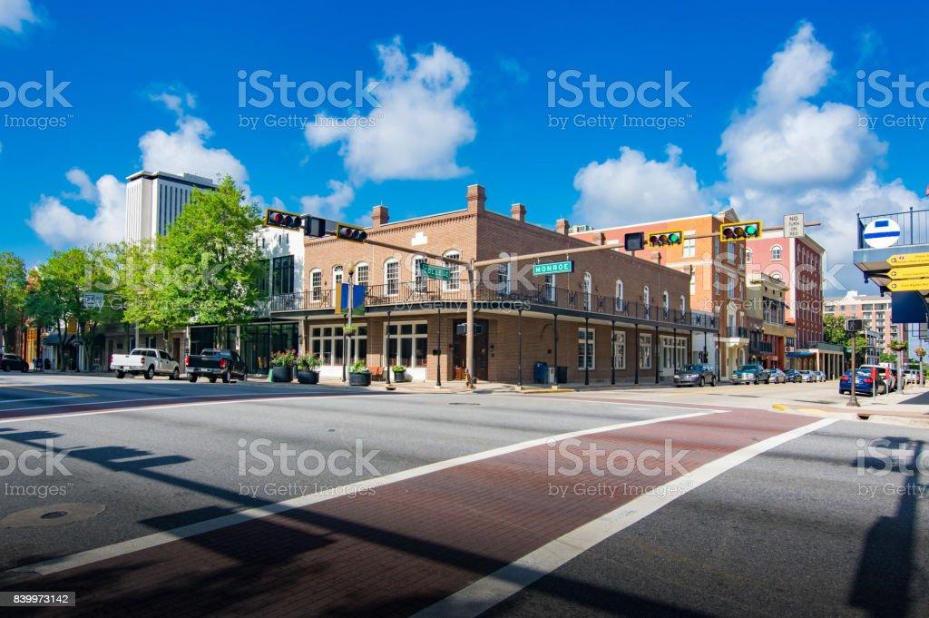Tallahassee Florida Downtown royalty-free stock photo