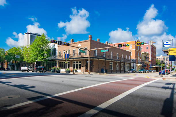Tallahassee Florida Downtown - foto stock