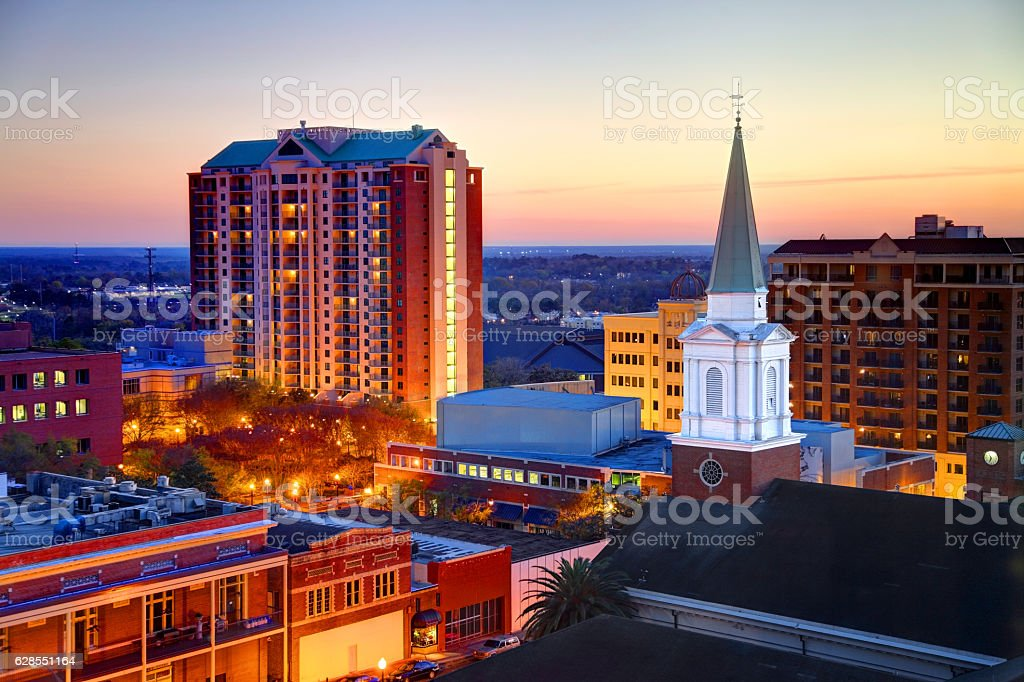 Tallahassee Florida stock photo