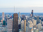 Tallest Skyscrapers of Downtown Chicago - August 2019