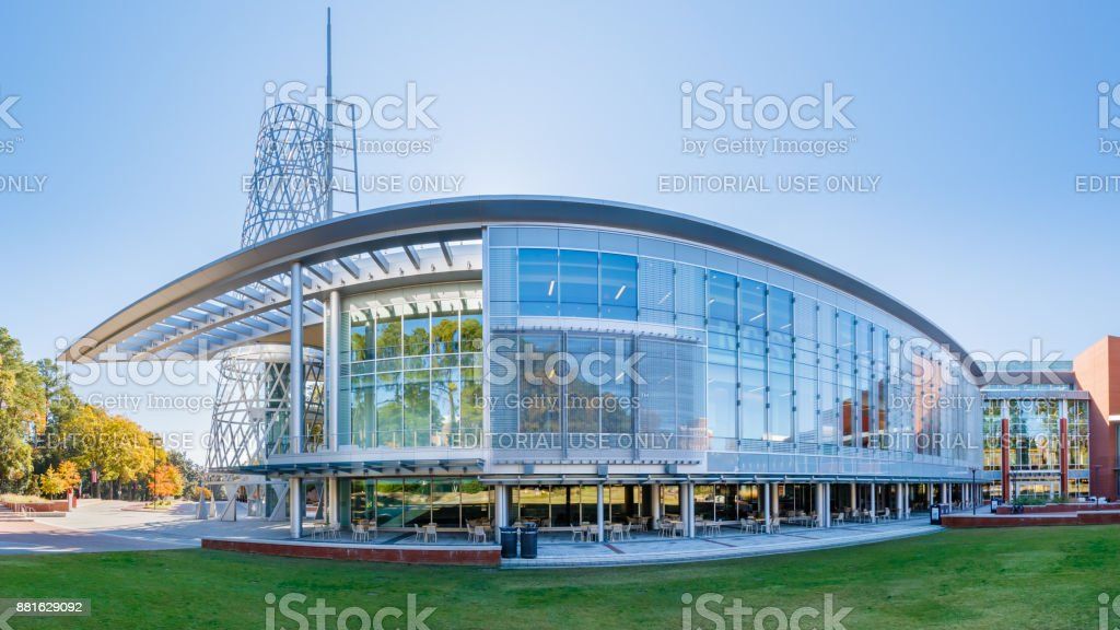 Talley Student Union at NC State University stock photo