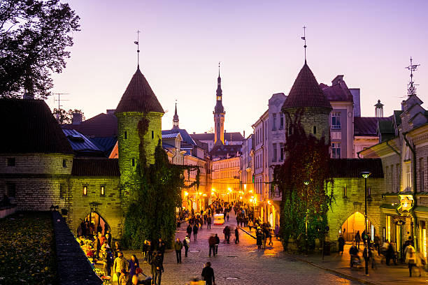 Tallin City Gates, Estonia