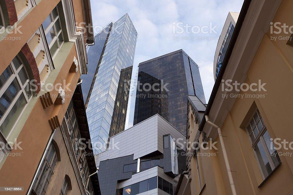 Tallinn architecture stock photo