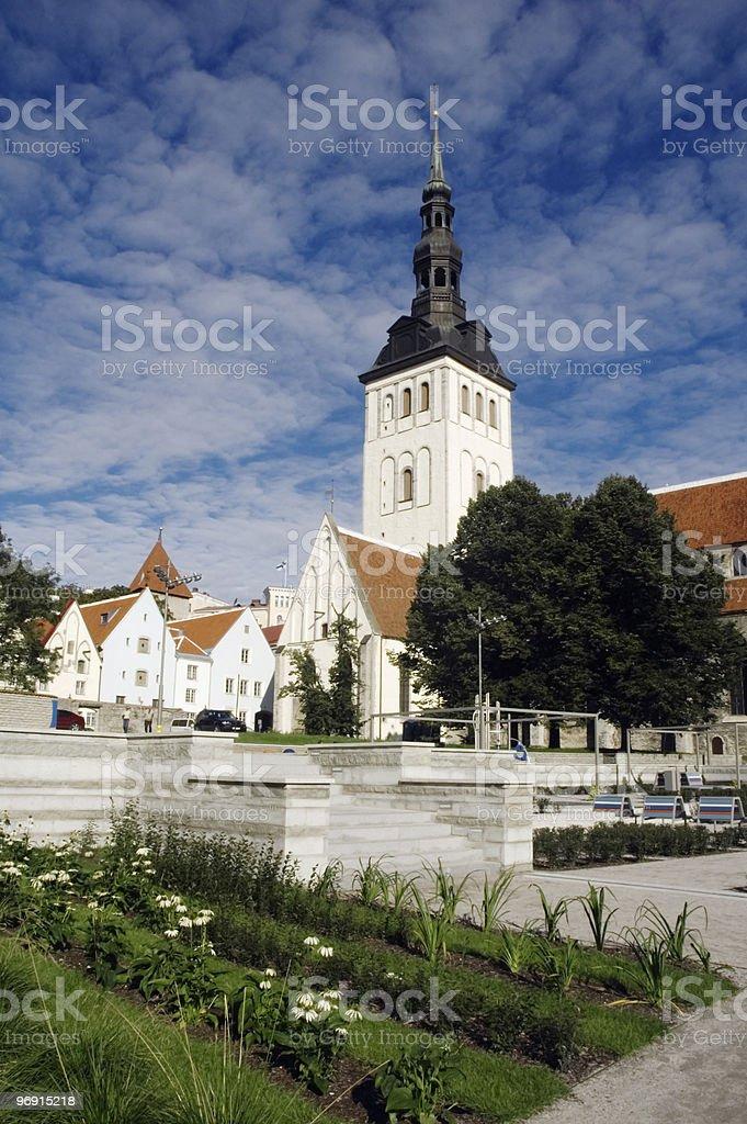 Tallinn. Estonia. Church Niguliste. royalty-free stock photo