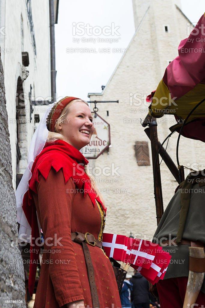 Tallinn - Estonia stock photo