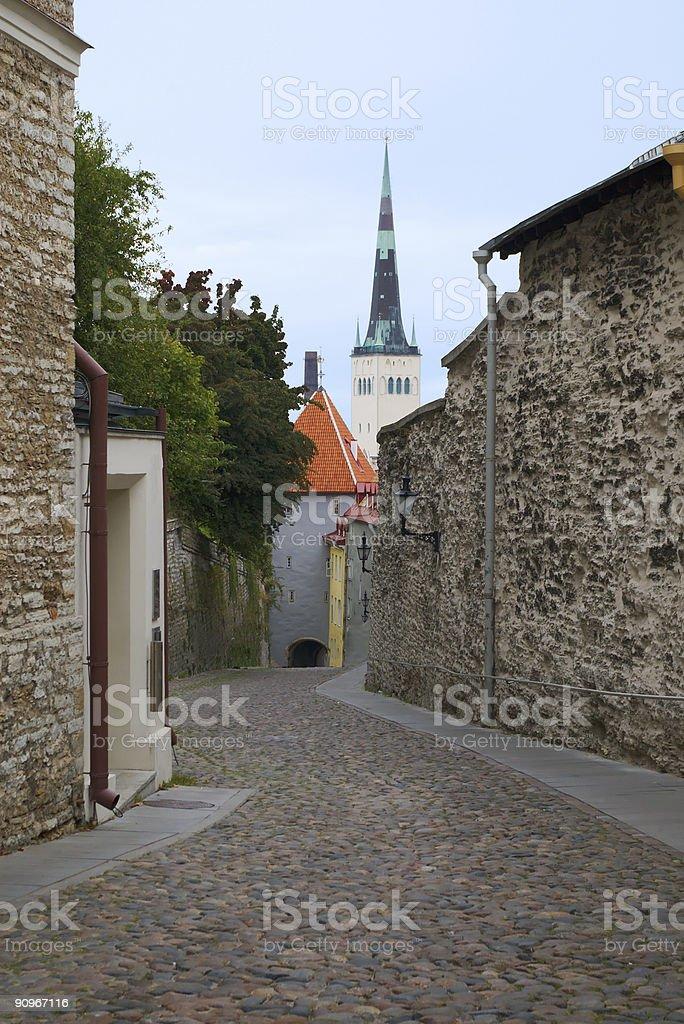 Tallinn historic part royalty-free stock photo