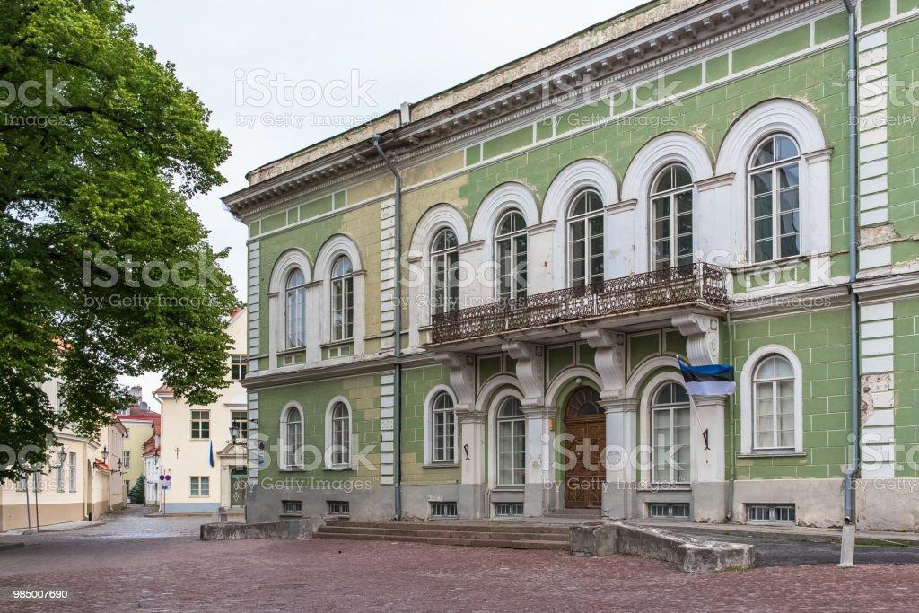 Tallinn in Estonia stock photo