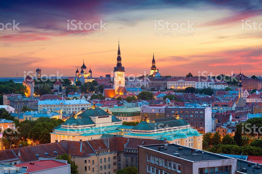 Tallinn. stock photo
