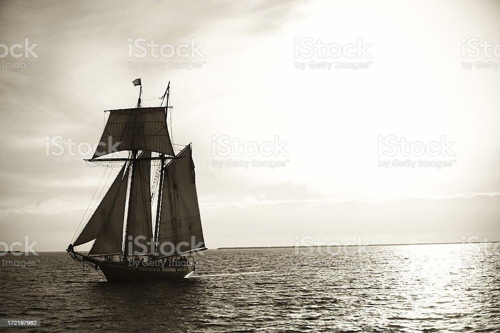 Tallship stock photo