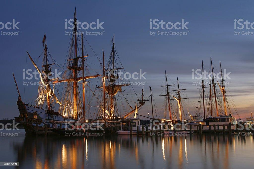 Tallships 01 royalty-free stock photo