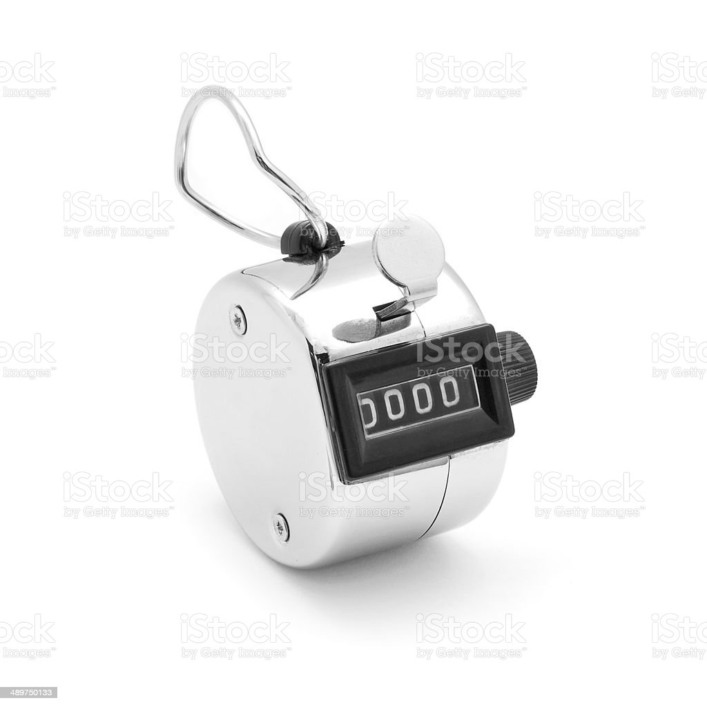 Tally Click Counter Stock Photo - Download Image Now - iStock