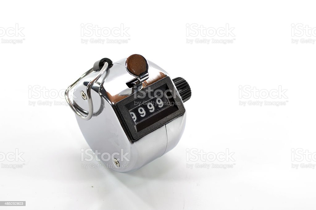 Tally Counter stock photo