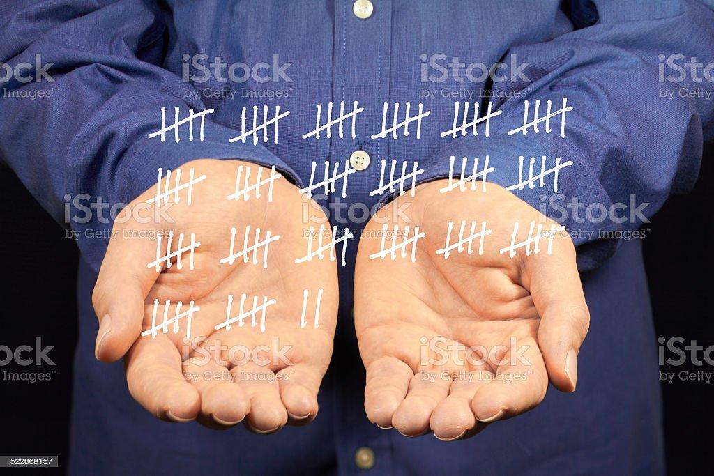 tally stock photo