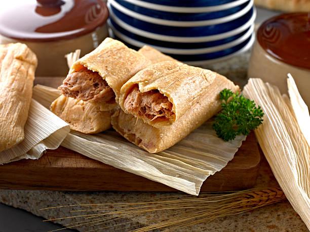 Tamales - foto de stock