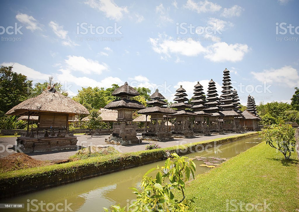 Taman Ayun temple in Bali royalty-free stock photo