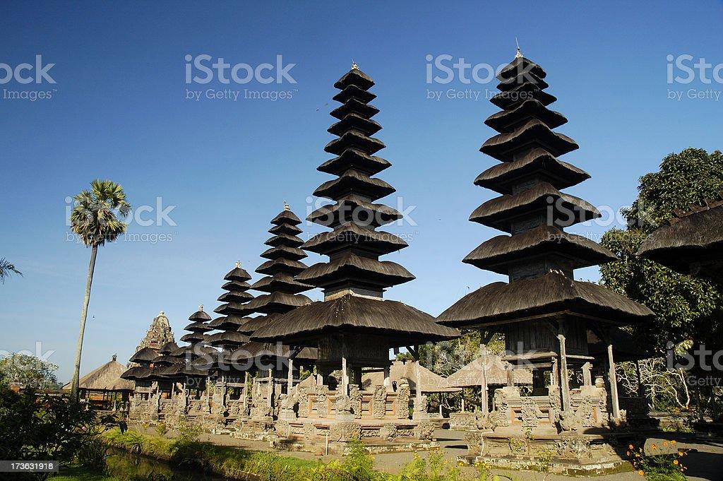 Taman Ayun temple royalty-free stock photo
