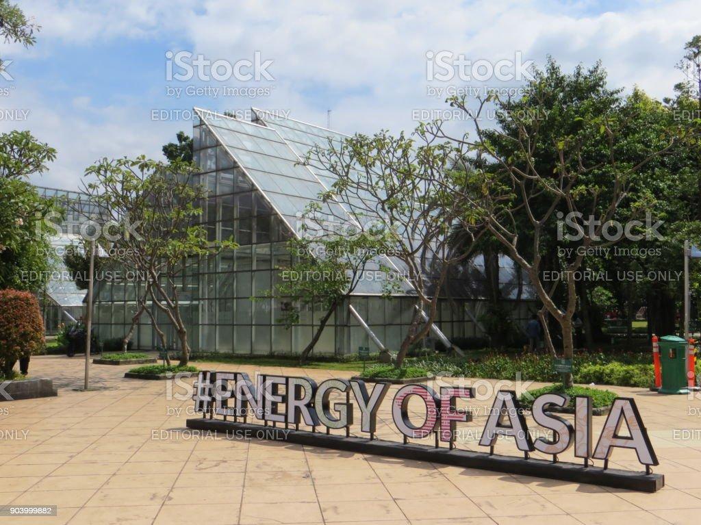 Taman Menteng, Jakarta stock photo