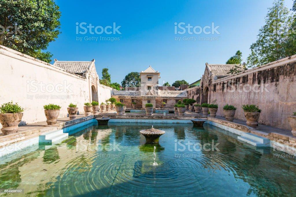 Taman Sari Water Castle. Yogjakarta, Indonesia. stock photo