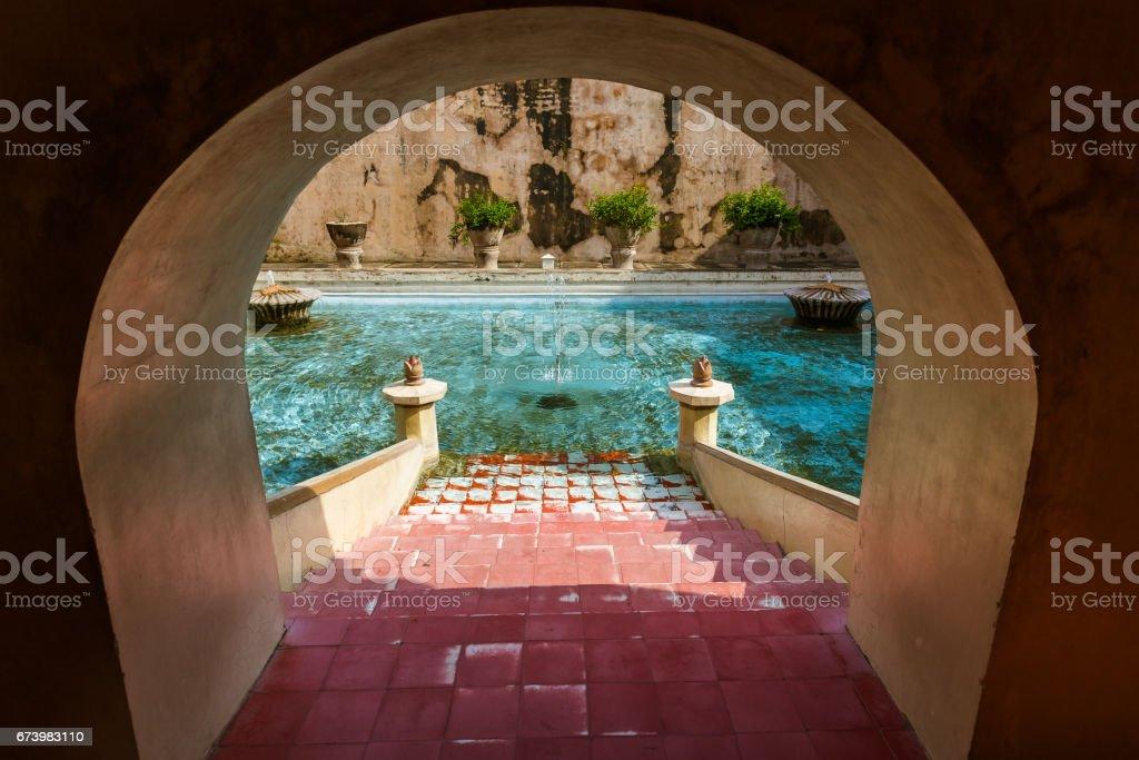 Taman Sari water palace of Yogyakarta - Java island Indonesia stock photo