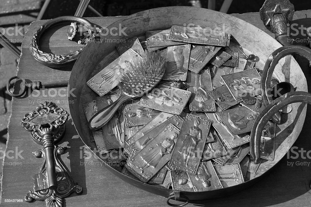 tamata votive offerings stock photo