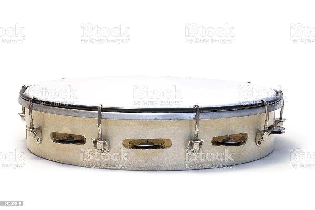 tambourine royalty-free stock photo