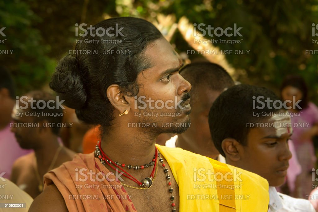 Tamil Mauritian stock photo