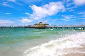 Tampa beach pier
